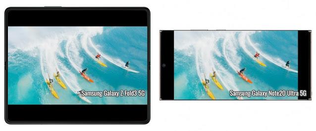 مقارنة حجم الفيديو: Galaxy Z Fold3 مقابل Z Flip3 مقابل Note20 Ultra مقابل S21 Ultra