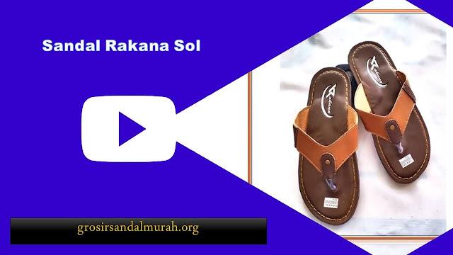 grosirsandalmurah.org - imitasi kulit - Sandal Rakana Sol DWS