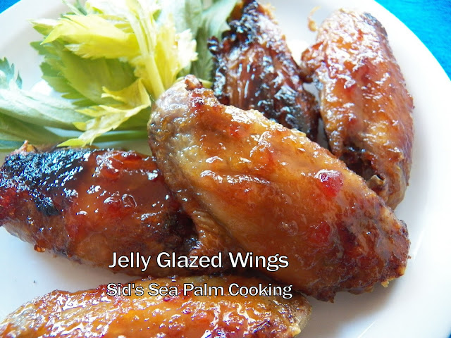 Jelly Glazed Wings