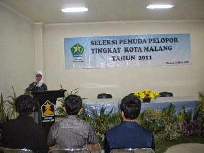 FORMULIR ISIAN  CALON PEMUDA PELOPOR JAWA TIMUR 2011  BIDANG PENDIDIKAN
