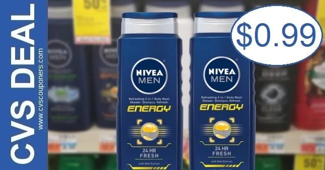Nivea Body Wash CVS Deal 8-29-9-4