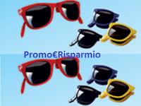 Logo Vinci 40.000 occhiali da sole pieghevoli con Galbani