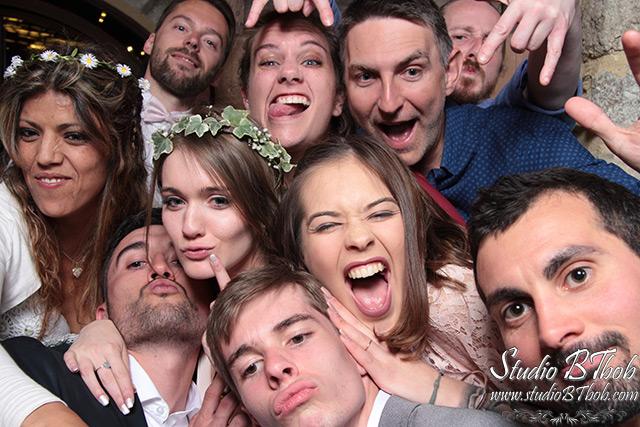 Photobooth mariage Cevennes