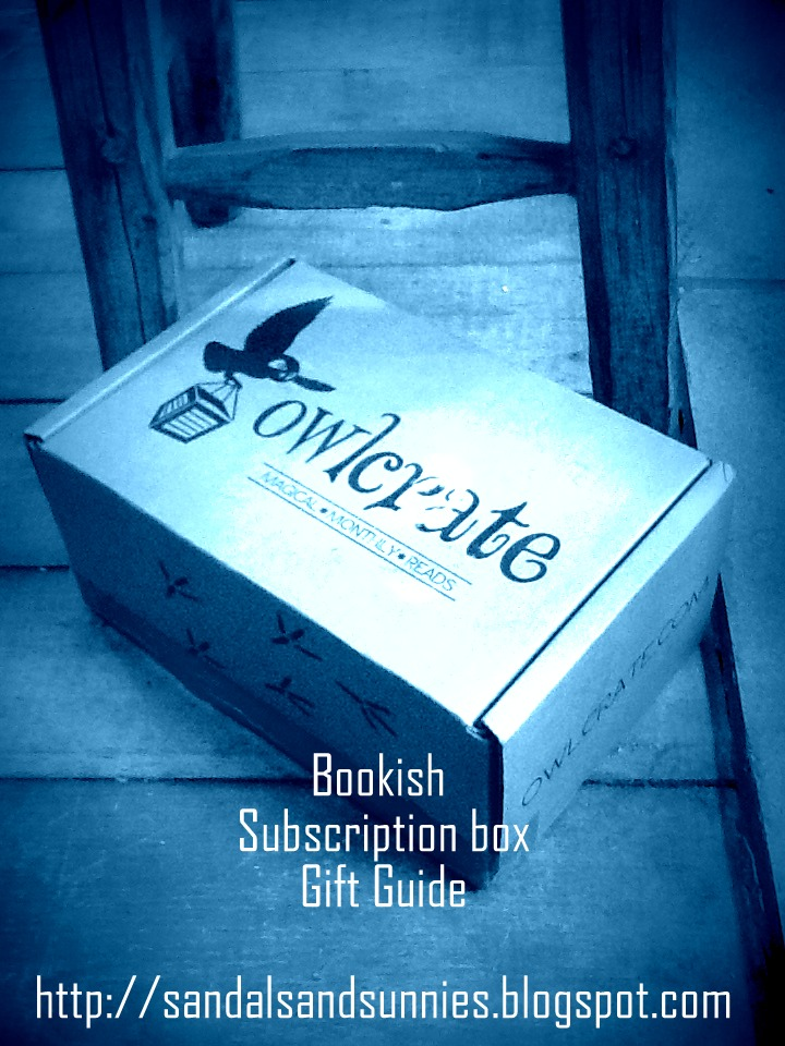 Bookish Gift Guide :: Subscription Box Edition