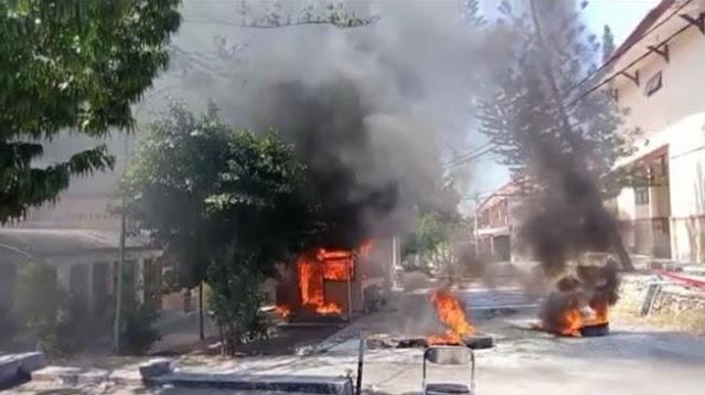 Mahasiswa Perusak dan Pembakar Kampus IAIN Madura Buron, Diminta Serahkan Diri