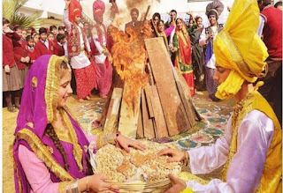 10 Lines on Lohri in Punjabi