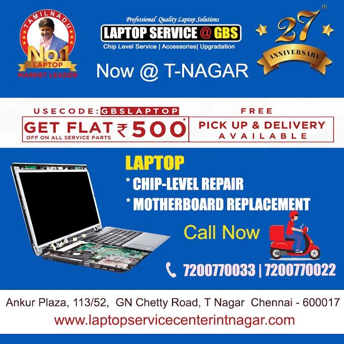 Laptop Motherboard Repair T Nagar Chennai
