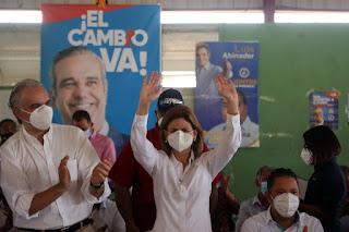 Raquel Peña prometió que el turismo y la agropecuaria volverán a florecer en Puerto Plata