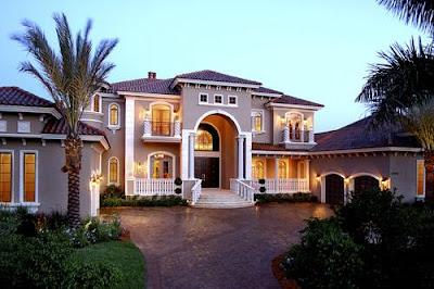 บ้านสวยสไตล์เมดิเตอร์เรเนียน