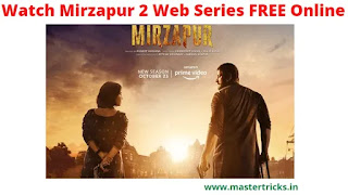 Watch Mirzapur 2 Free