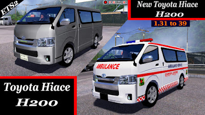 New Toyota Hiace H200