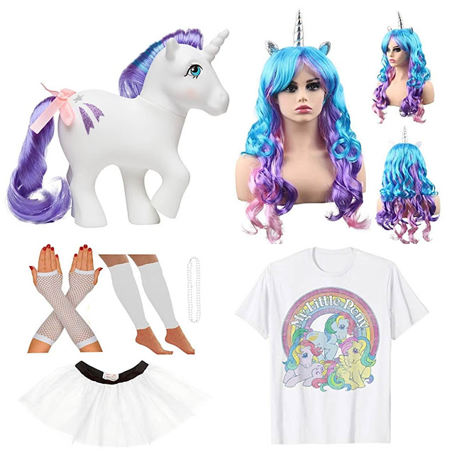 FEB 24 - Create an 80s MY LITTLE PONY UNICORN COSTUME. Our latest blog post shows you how.