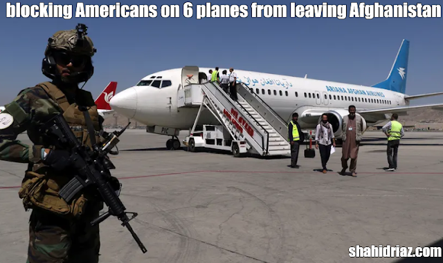 Rep. McCaul says Taliban blocking Americans on 6 planes from leaving Afghanistan