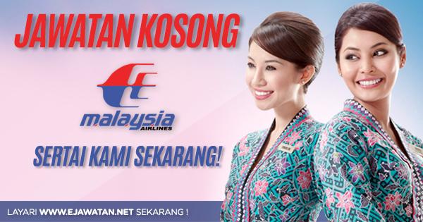 jawatan kosong Malaysia Airlines Berhad (MAB) 2020