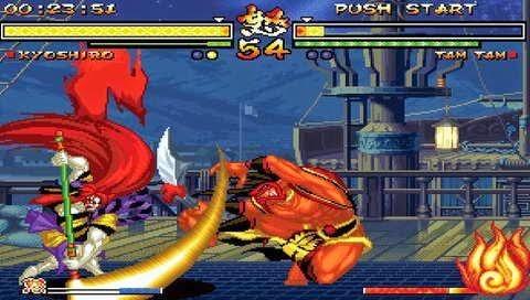 Samurai Shodown Anthology Download Game Psp Ppsspp