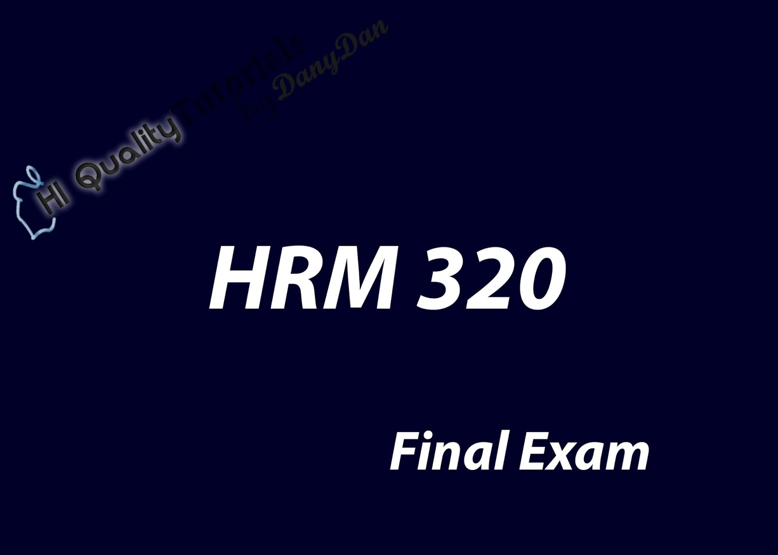 "devry hrm 340 final exam Why i wrote ""the big payback"" 5 hip-hop myths, debunked jay-z,  really decoded 5 hip-hop business tragedies controversy:."