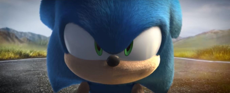 Imagem do trailer Sonic: O Filme feito por fã