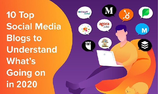 10 Top Social Media Blogs to Understand What's Going on in 2020 #infographic