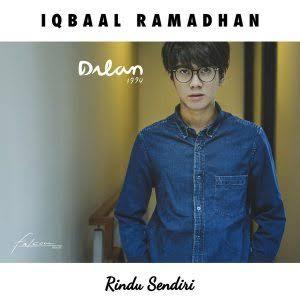 cover album iqbaal ramadhan rindu sendiri