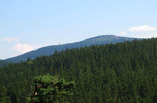 Czarna Góra widziana z Iglicznej.
