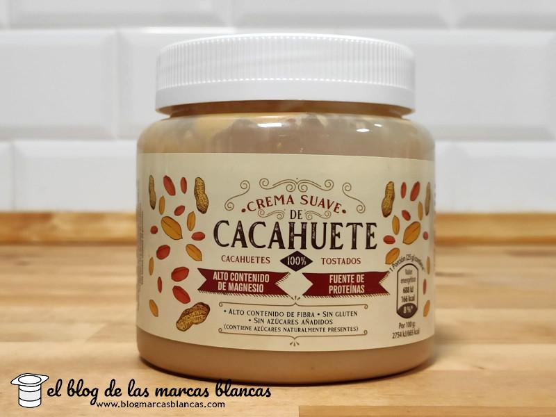 Crema suave de cacahuetes 100% ALDI en El Blog de las Marcas Blancas