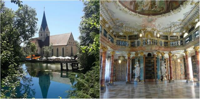 Blautopf e Abadia de Wiblingen - passeios perto de Ulm e Stuttgart (Alemanha)