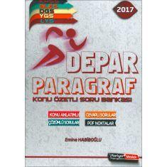 2017 DEPAR KPSS ALES DGS YGS LYS Paragraf Konu Özetli Soru Bankası Kariyer Meslek Yayınları