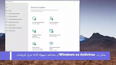 يمكن لـ Windows 10 Antivirus أن يتضاعف بسهولة كأداة تنزيل فيروسات