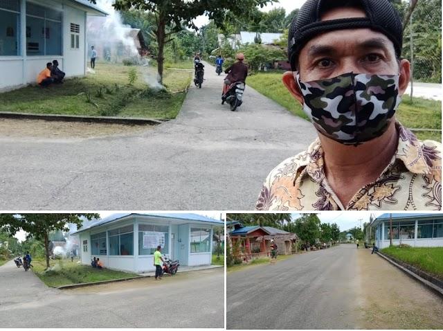 """Kades Alai Jonnedi  Lakukan Program Gotong Royong Bersama Masyarakat """"Bersih Kampung"""""""