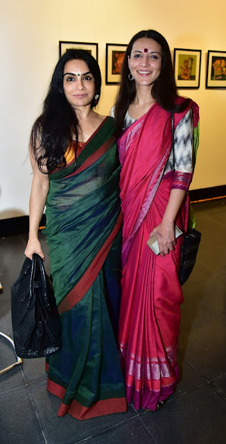 Harjinder Kaur with Tara Roy