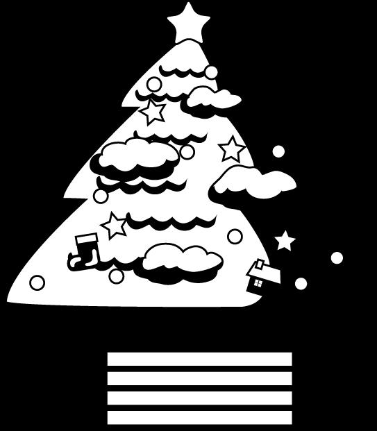 Albero Di Natale Disegno Da Colorare.Disegni Di Alberi Di Natale Da Colorare