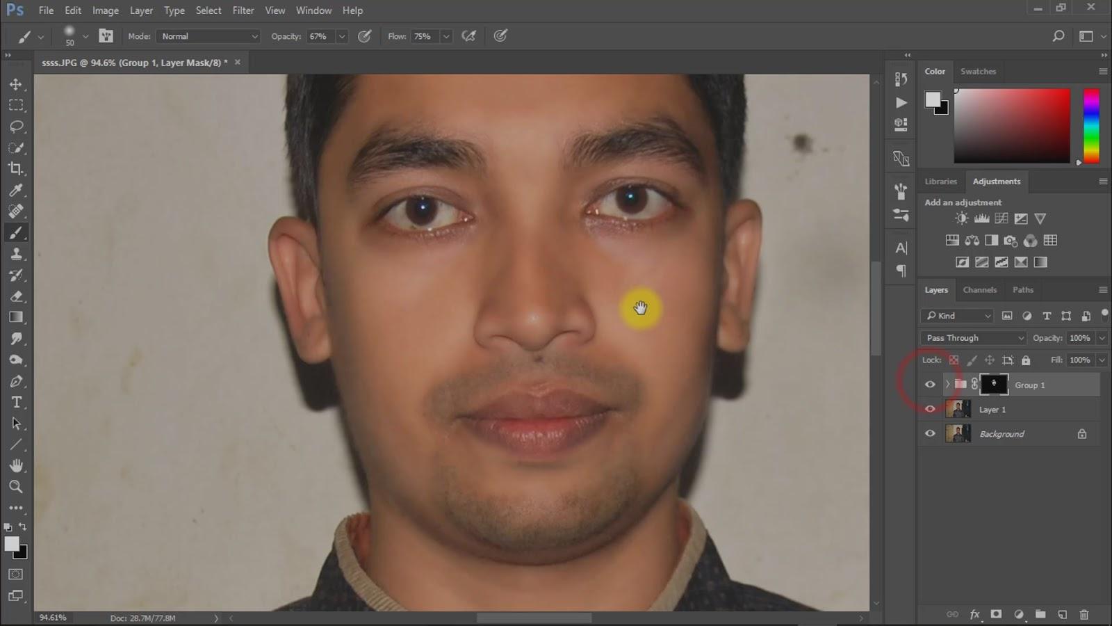 best way to create passport size photo screenshot 2