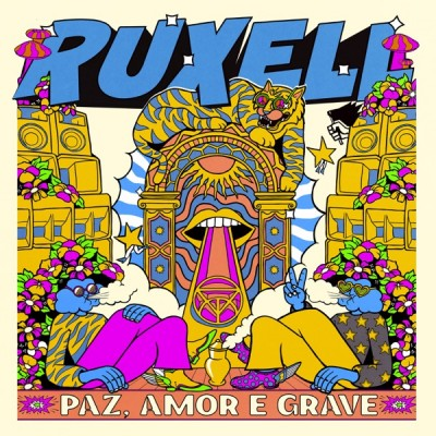 Ruxell - Paz, Amor e Grave (2020) - Album Download, Itunes Cover, Official Cover, Album CD Cover Art, Tracklist, 320KBPS, Zip album
