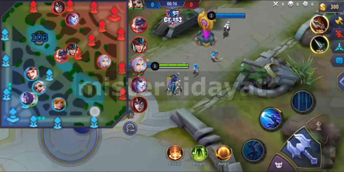 Script Radar Map Mobile Legends Patch Terbaru