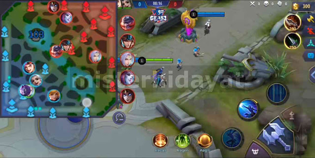Script Radar Map Mobile Legends Patch Mathilda Terbaru