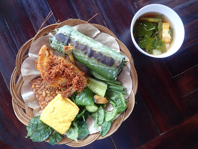 nasi bakar komplit the ranch
