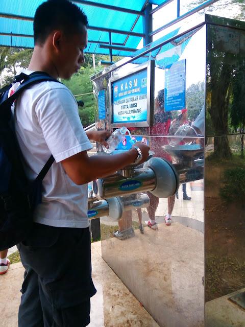 Fasilitas umum di Kambang Iwak KI PARK Palembang