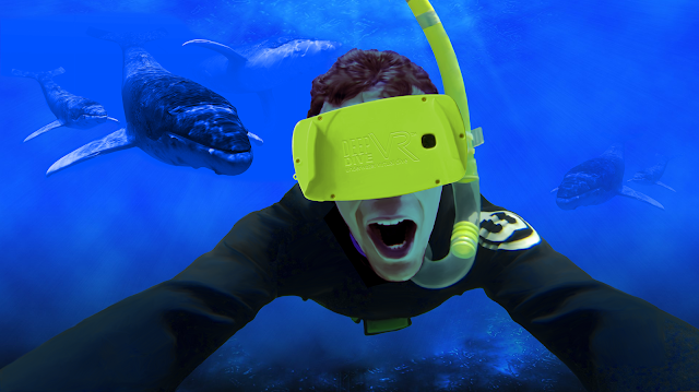 headset for deep dive vr