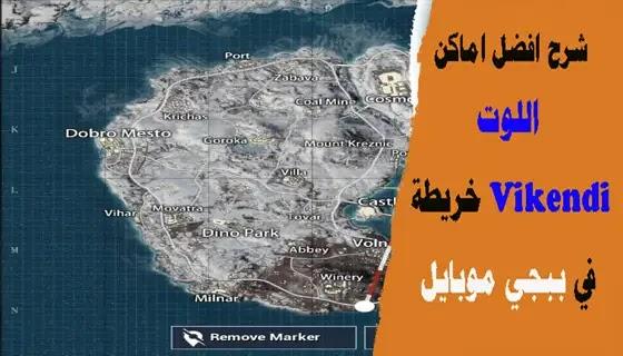 Vikendi Map