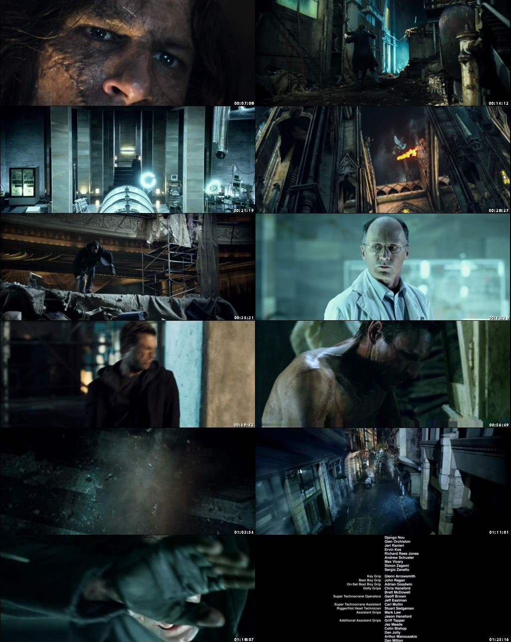 I Frankenstein 2014 Dual Audio 480p 300MB [Hindi - English] BRRip