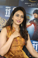 Rakul Preet Singh smiling Beautyin Brown Deep neck Sleeveless Gown at her interview 2.8.17 ~  Exclusive Celebrities Galleries 081.JPG