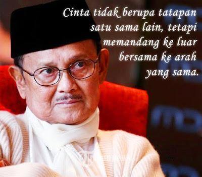 quotes kata mutiara bahasa inggris dari bj habibie keren