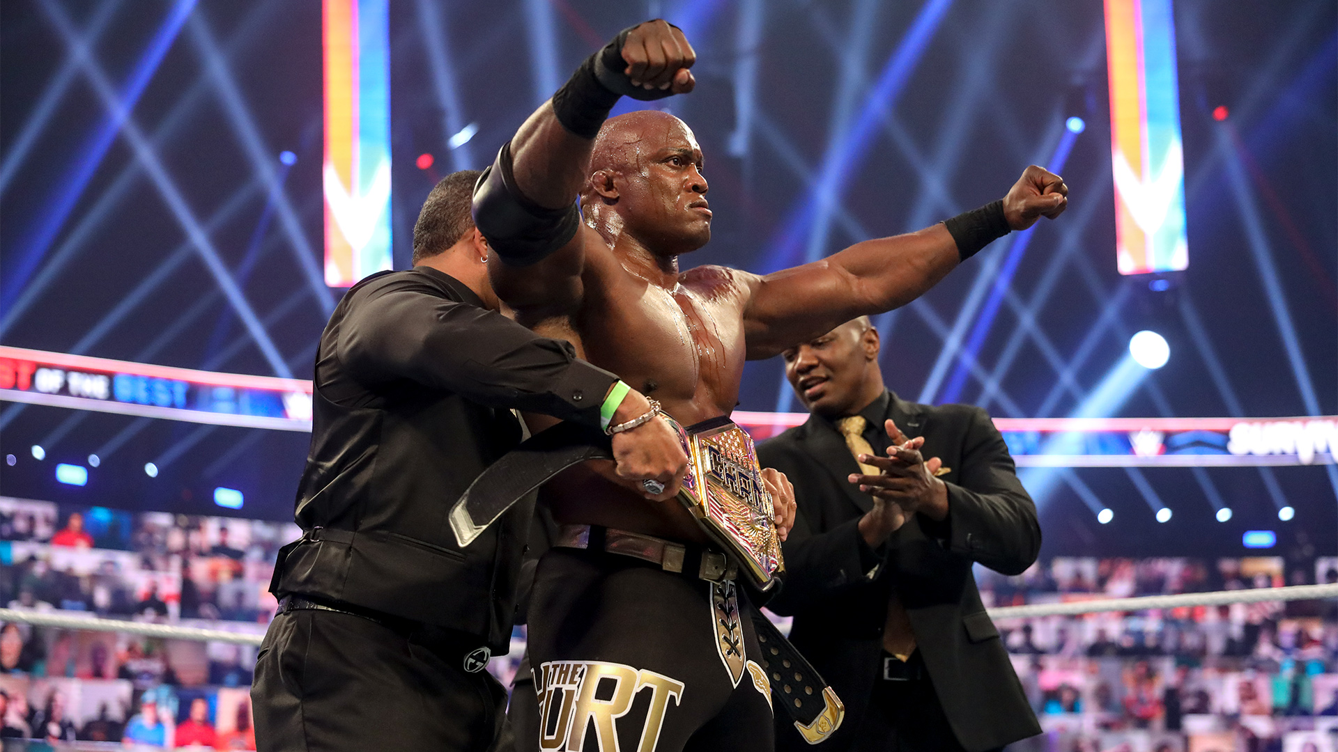 Bobby Lashley domina Sami Zayn e amplia placar para o RAW no Survivor Series