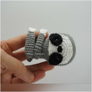 patron amigurumi Perezoso canal crochet