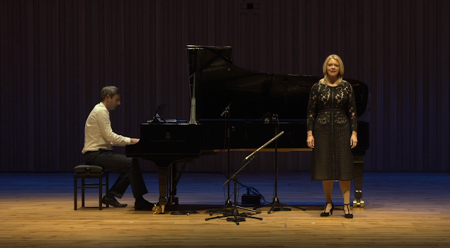 Manchester Song Festival - Jonathan Fisher, Kathryn Rudge (image taken from live stream)