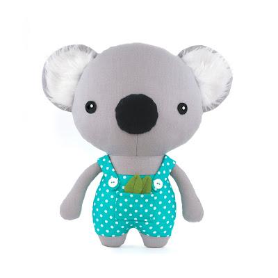 koala plush pattern