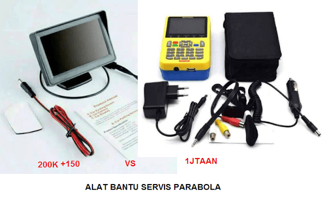 alat untuk servis parabola