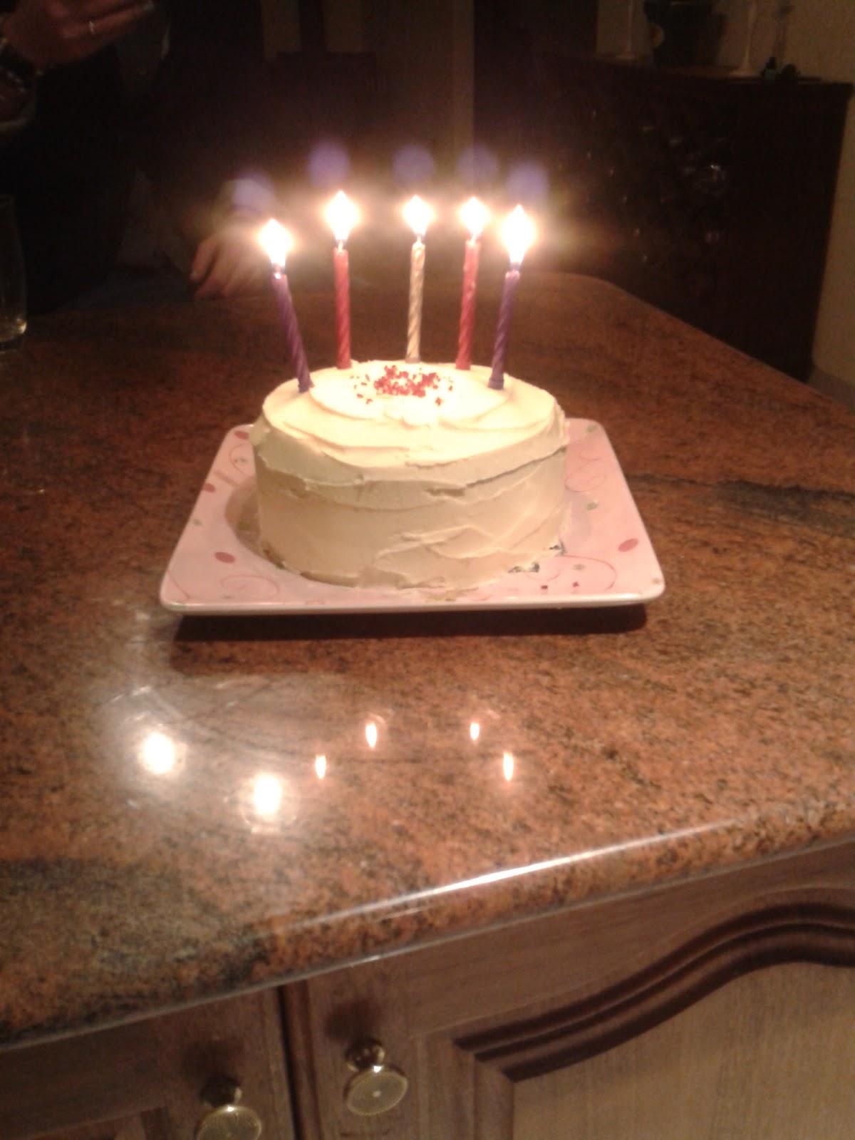 Mariposa Bakery Chocolate Birthday Cake