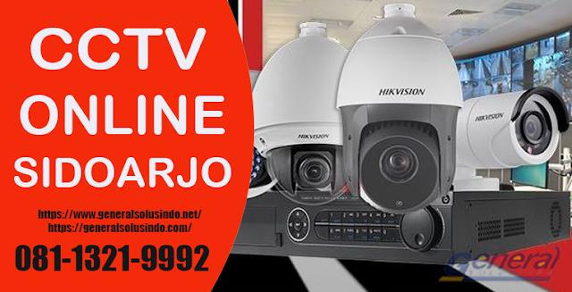 Hikvision CCTV Online Sidoarjo