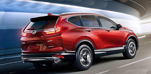 New 2017 Honda CR-V Gets 190 HP Turbo Power